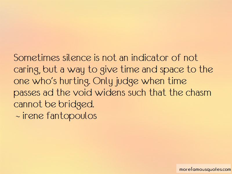 Hurting In Silence Quotes