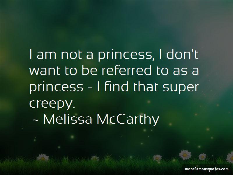 I Am Not A Princess Quotes
