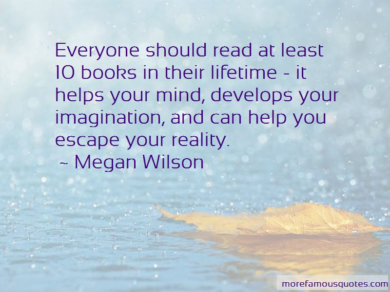 I Read To Escape Reality Quotes