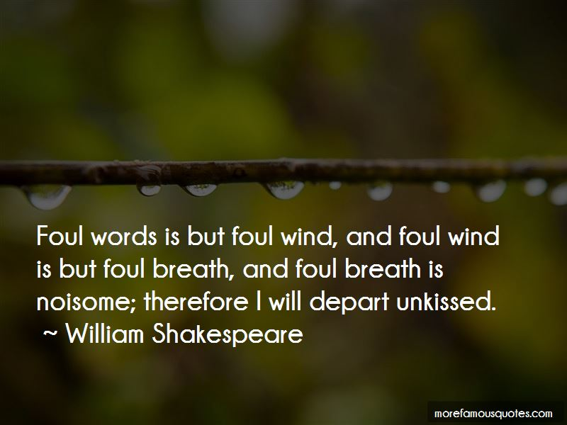 I Will Depart Quotes
