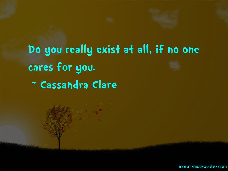 If No One Cares Quotes