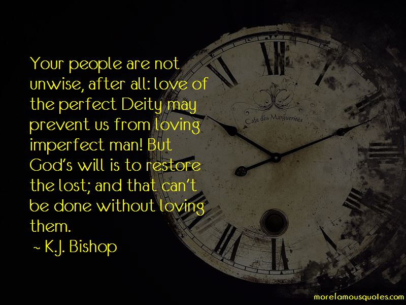 Imperfect Man Love Quotes
