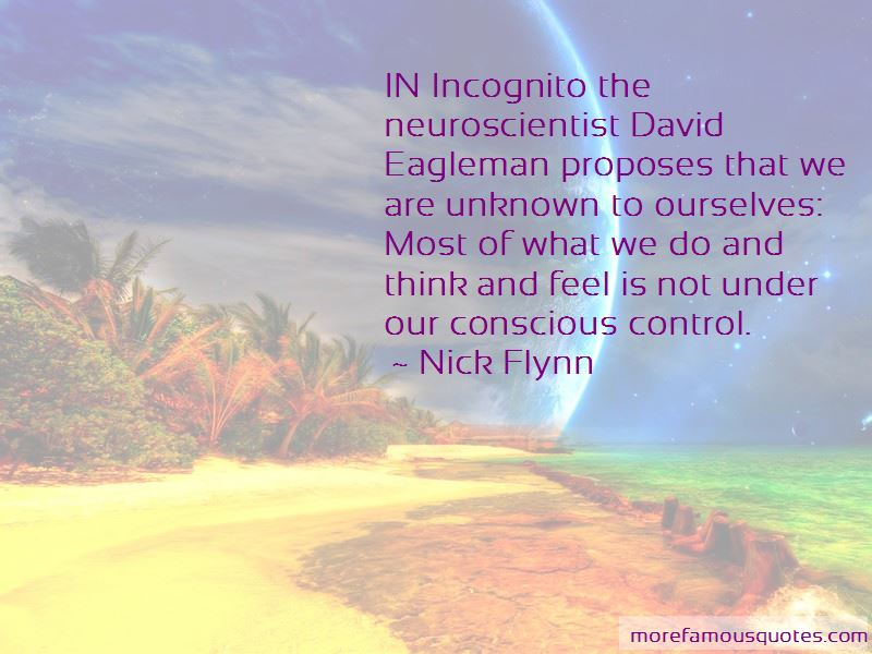Incognito David Eagleman Quotes