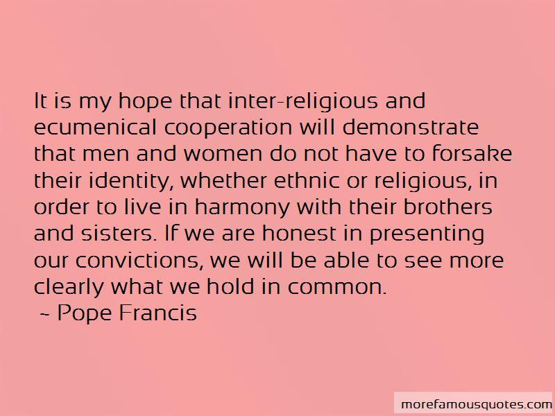 Inter Religious Quotes
