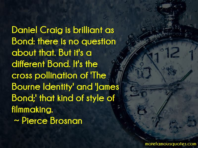 James Bond Daniel Craig Quotes