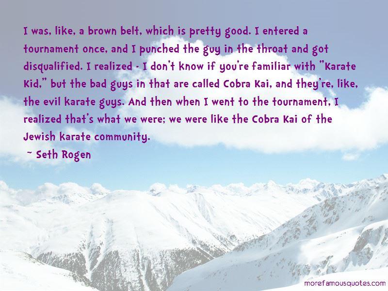 Karate Kid Tournament Quotes