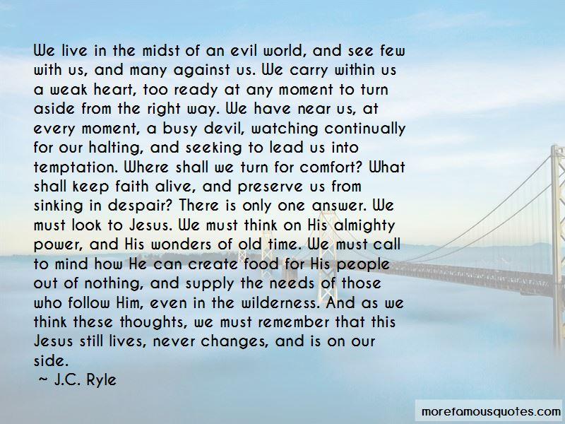 Keep Faith Alive Quotes
