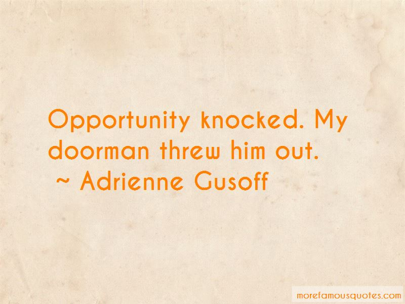 Knocked Up Doorman Quotes