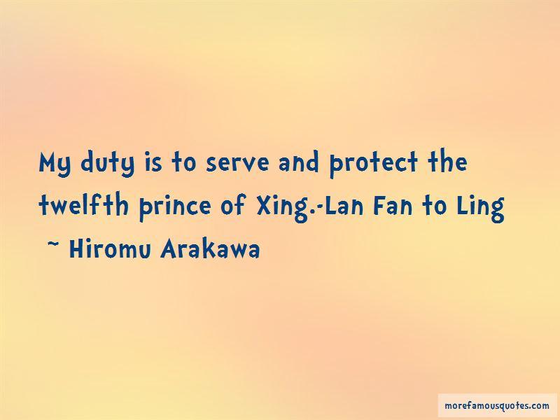 Lan Fan Quotes