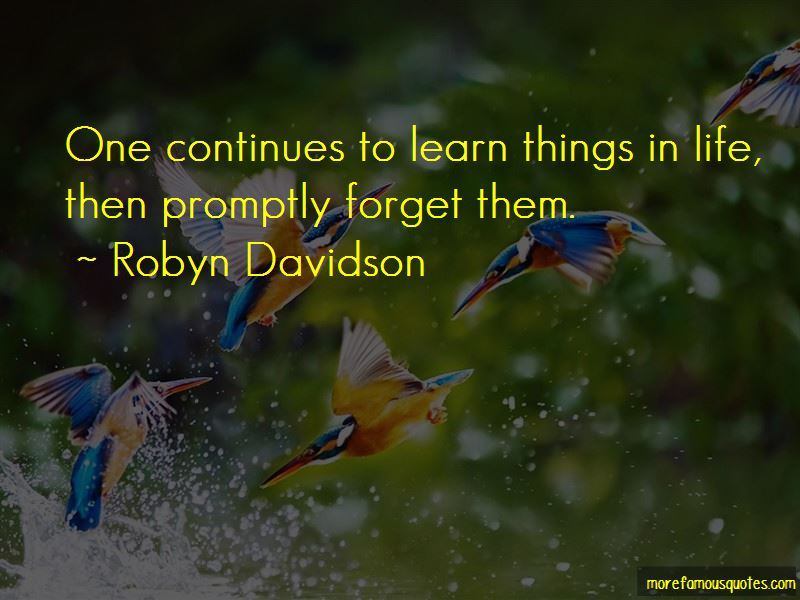 Learn Things In Life Quotes
