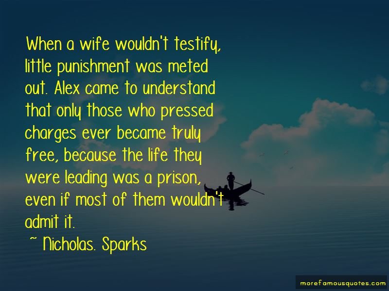 Life Of A Prison Wife Quotes