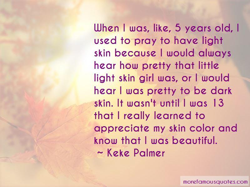 Light Skin Girl Quotes