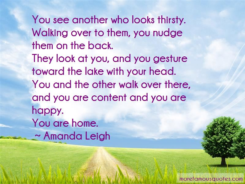 Look Over Me Quotes