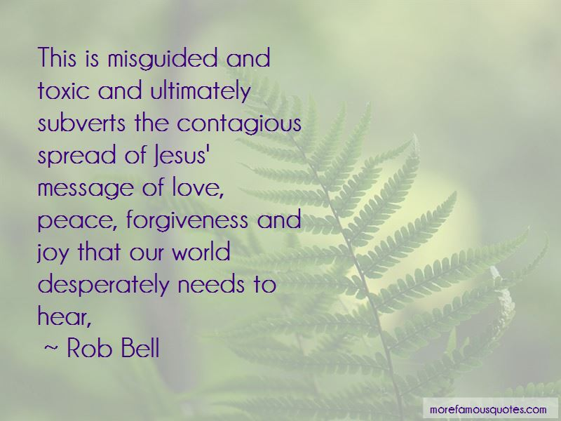 Love Peace Forgiveness Quotes Top 34 Quotes About Love Peace