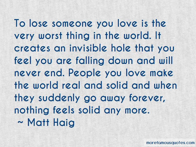 Love Worst Thing Quotes