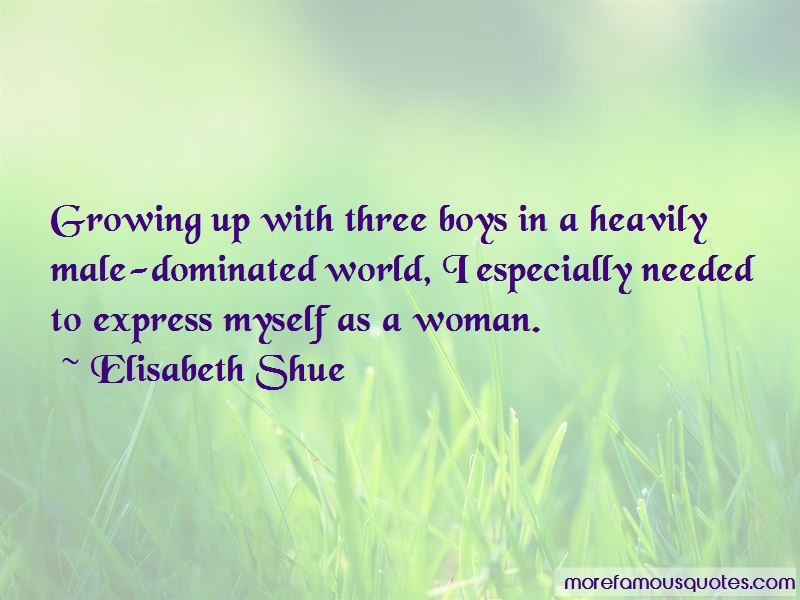 Male Dominated World Quotes