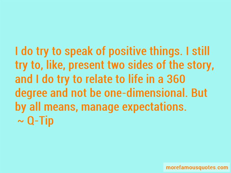 Manage Expectations Quotes