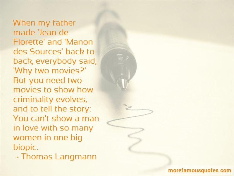 Manon Des Sources Quotes