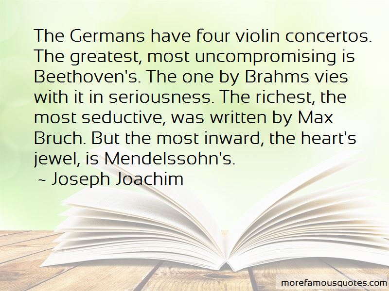 Max Bruch Quotes