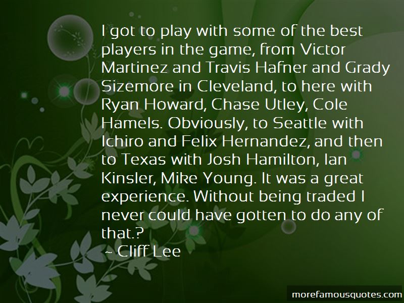 Mike Utley Quotes