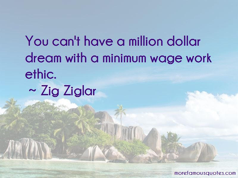 Million Dollar Dream Quotes
