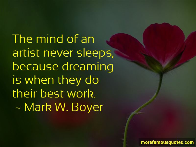 Mind Never Sleeps Quotes