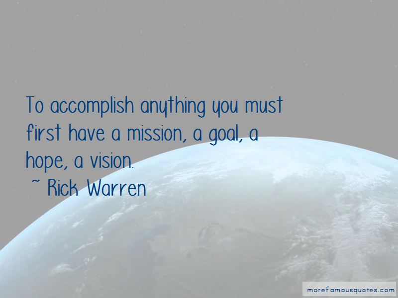 Mission And Goal Quotes Pictures 2