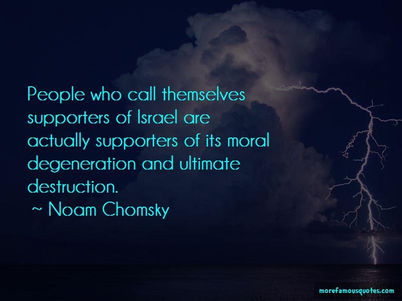 Moral Degeneration Quotes