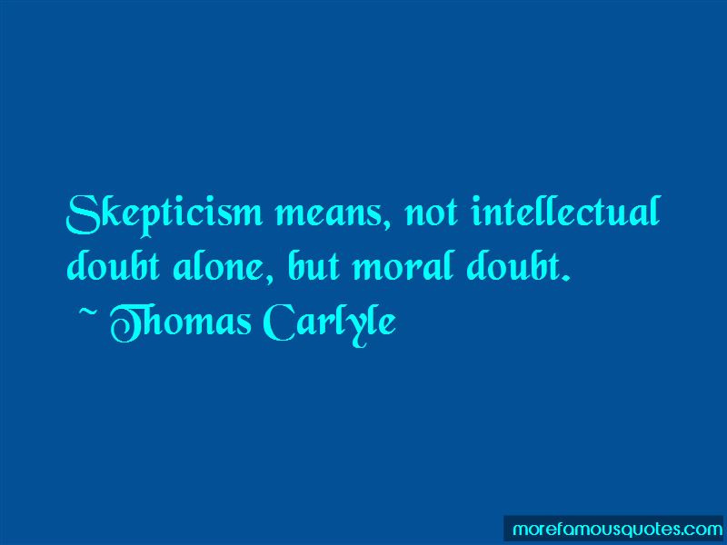 Moral Skepticism Quotes Pictures 2