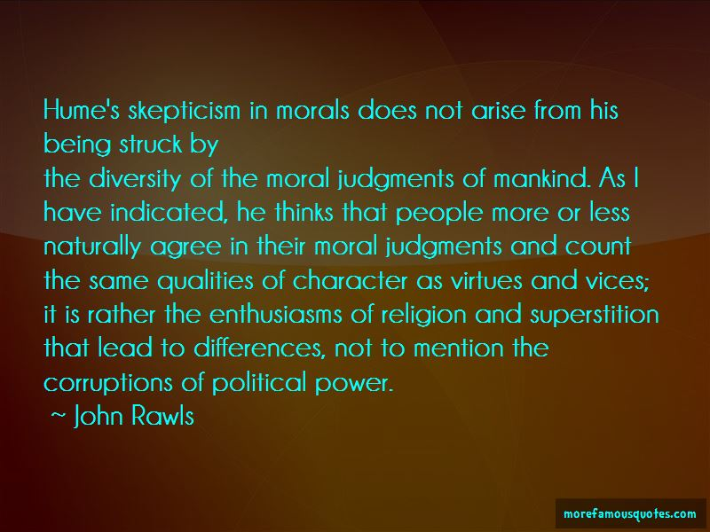 Moral Skepticism Quotes Pictures 3