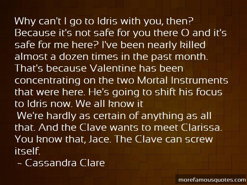 Mortal Instruments Jace Quotes