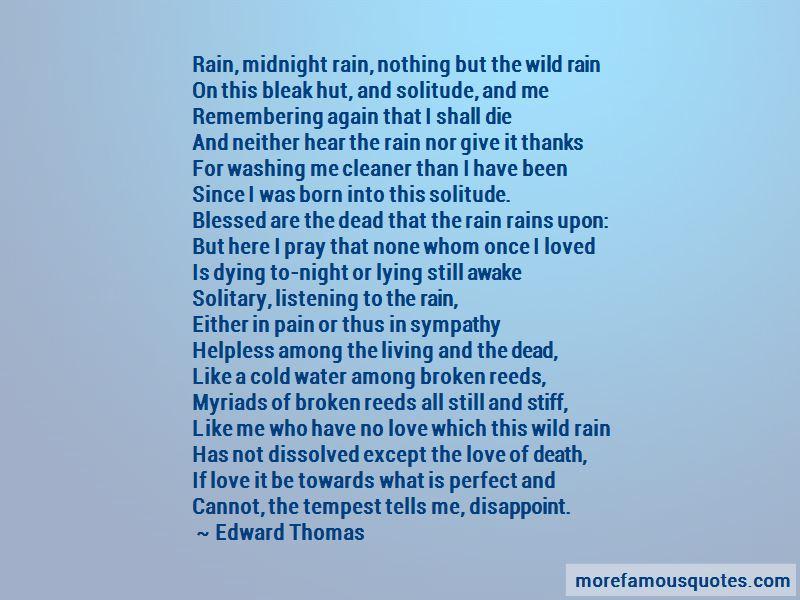 Night Rain Love Quotes Pictures 4