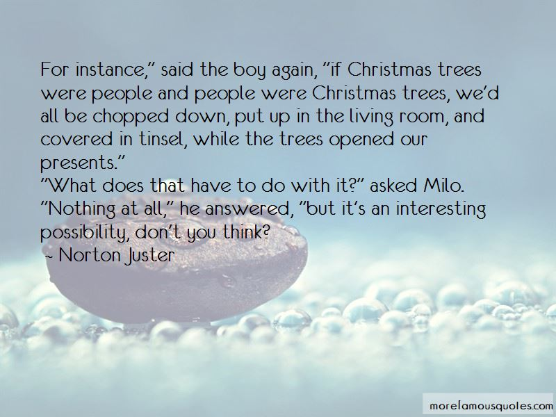 No Presents For Christmas Quotes