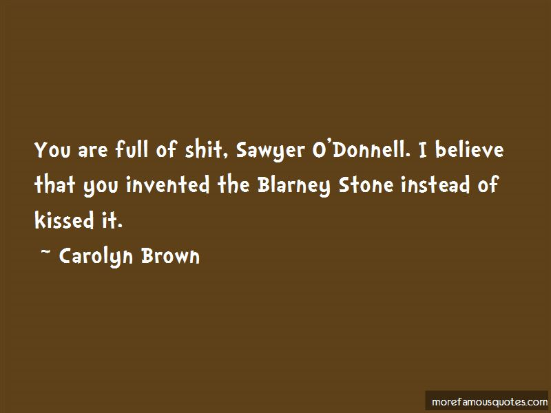 O'donnell Quotes