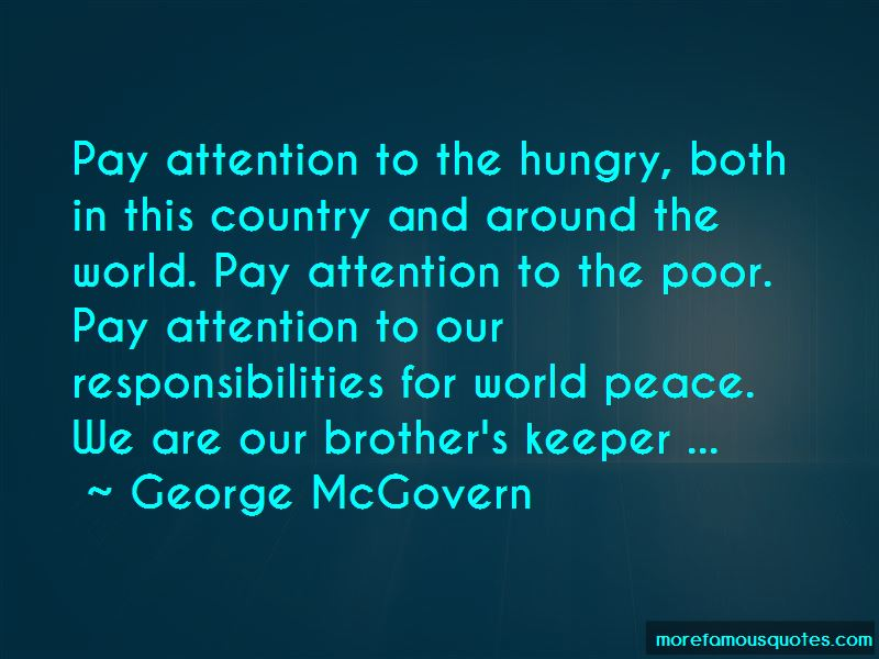 Our Brother's Keeper Quotes
