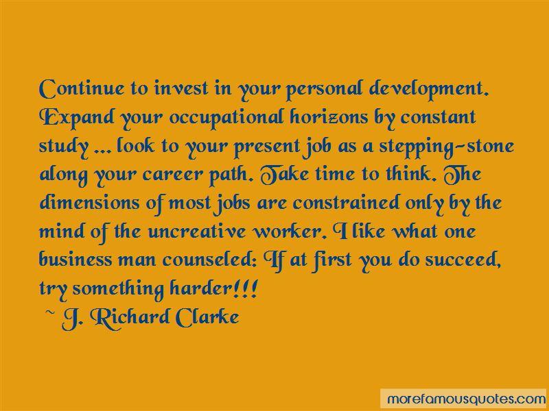 Personal Career Development Quotes