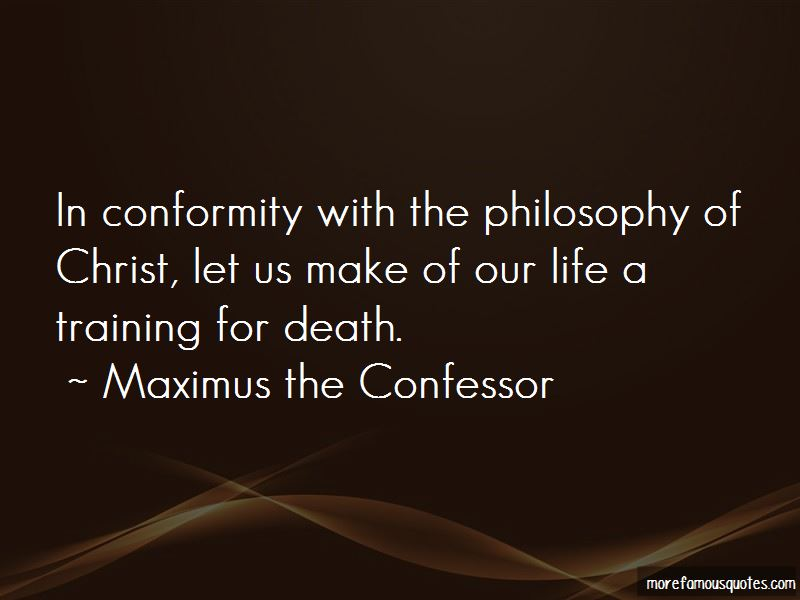 Philosophy Of Life And Death Quotes
