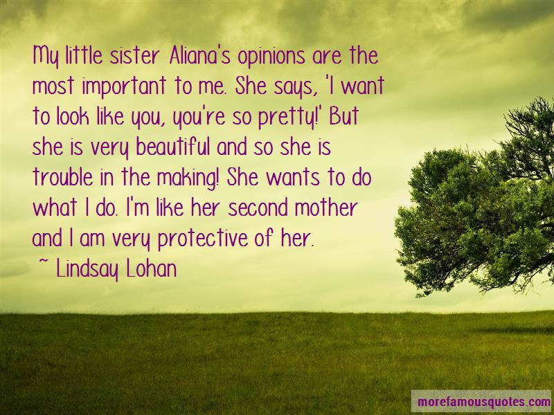 Protective Sister Quotes