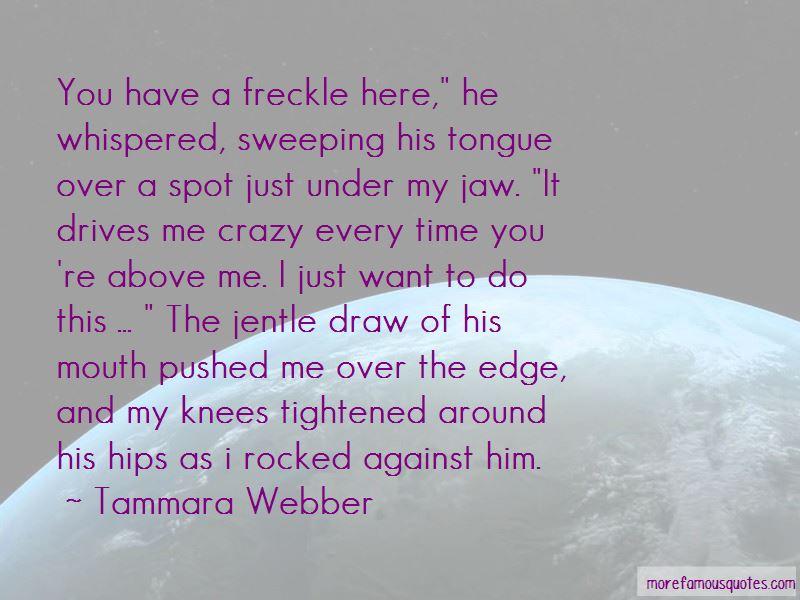 Pushed Over The Edge Quotes