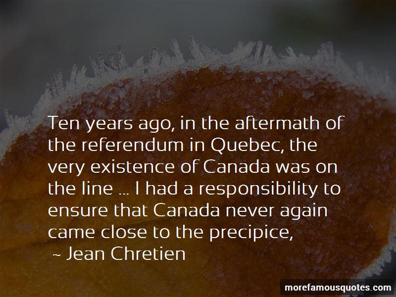 Quebec Referendum Quotes