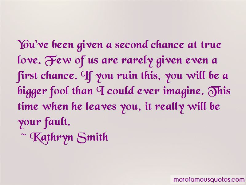 Second Chance At First Love Quotes: Top 7 Quotes About