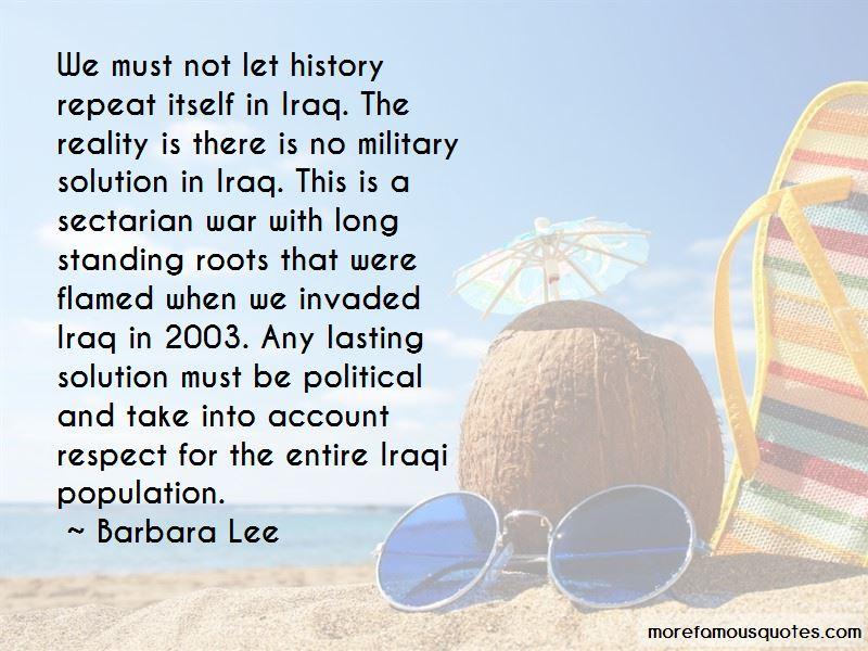 Sectarian War Quotes