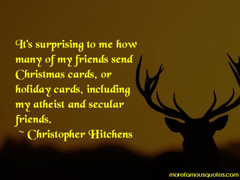 Secular Christmas Quotes: top 6 quotes about Secular Christmas from ...