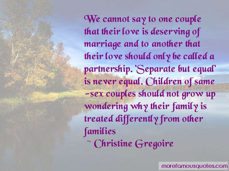 Separate But Not Equal Quotes Pictures 4