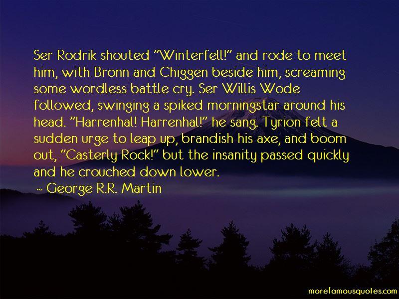 Ser Bronn Quotes
