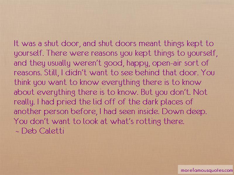 Shut Doors Quotes Pictures 2