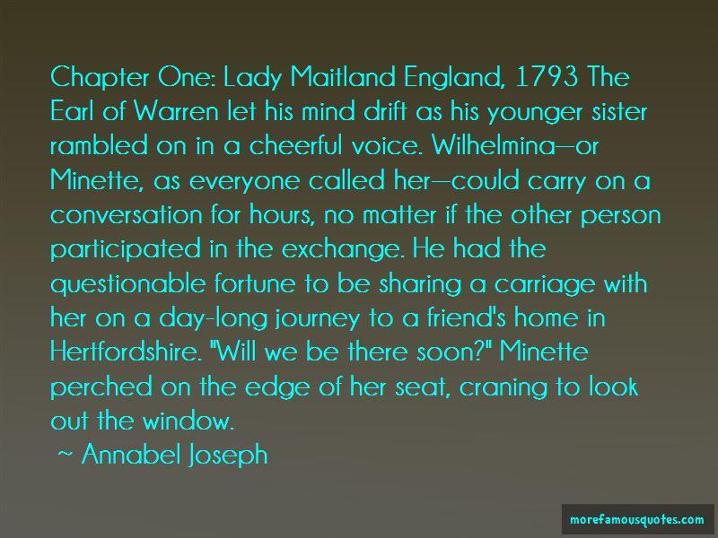 Sister Wilhelmina Quotes