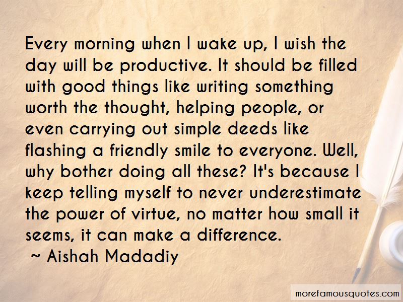 Small Things Can Make A Difference Quotes Pictures 4