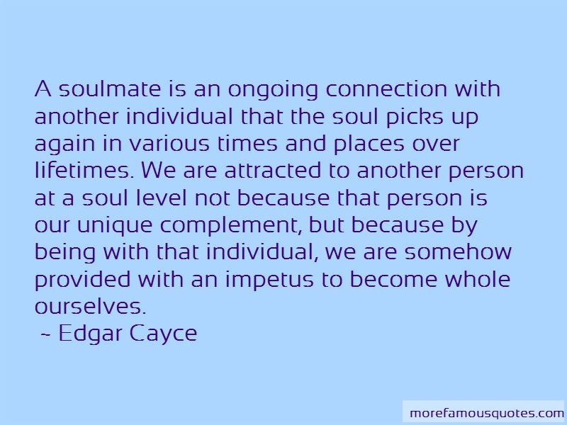 Soulmate Connection Quotes