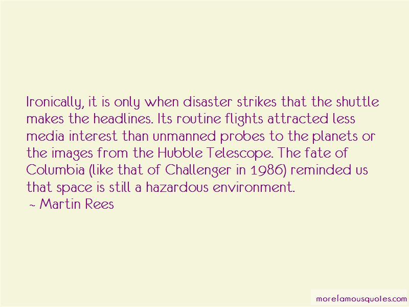 Space Shuttle Challenger Disaster Quotes